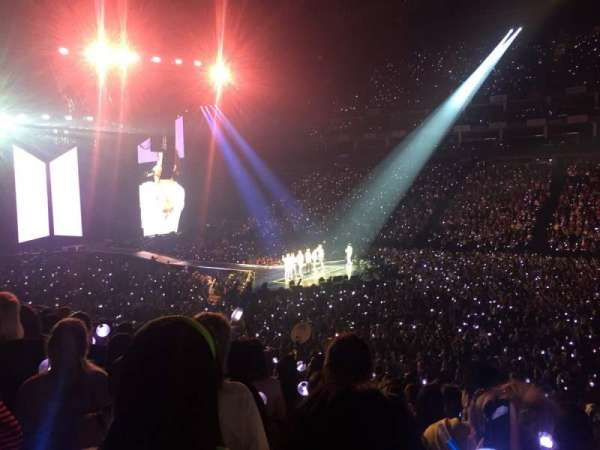 The O2 Arena, section: 103, row: T