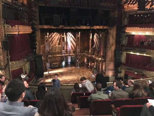 CIBC Theatre, section: Mezzanine L, row: G, seat: 3