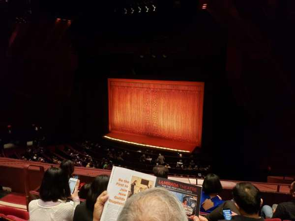 Segerstrom Hall, section: Loge, row: H, seat: 117