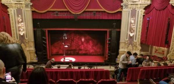 James M. Nederlander Theatre, section: Balcony C, row: J, seat: 309