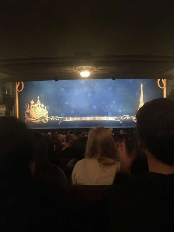 Broadhurst Theatre, section: Orchestra Center, row: S, seat: 106