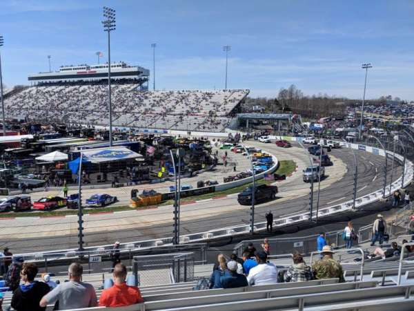 Martinsville Speedway, section: JJJ, row: 15, seat: 8