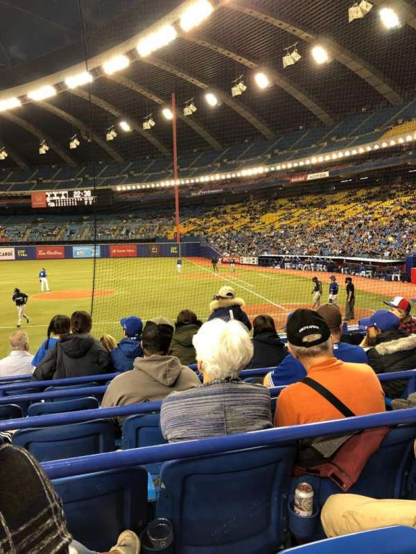 Olympic Stadium, Montreal, section: 106, row: MM, seat: 11