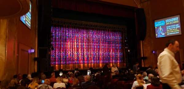 State Theatre New Jersey, section: ORCH left, row: P, seat: 5-7