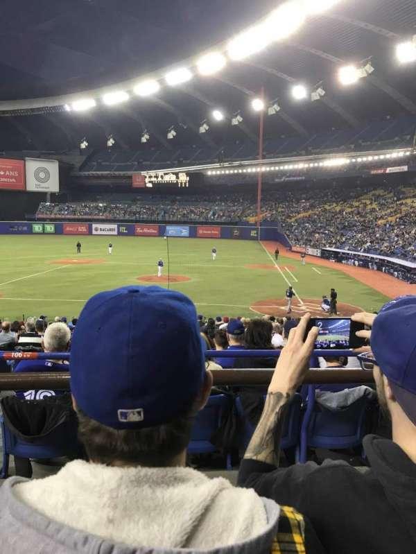 Olympic Stadium, Montreal, section: 106, row: B, seat: 16