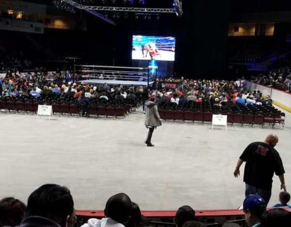 Santa Ana Star Center , section: 209, row: 4, seat: 10