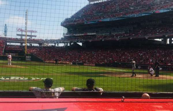 Great American Ball Park, section: 117, row: F, seat: 6