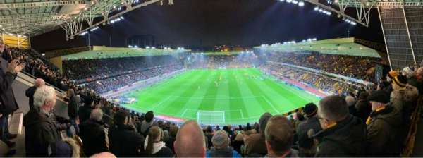 Molineux Stadium, section: NU3, row: K, seat: 66
