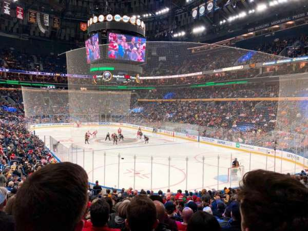 KeyBank Center, section: 101, row: 19, seat: 19/20