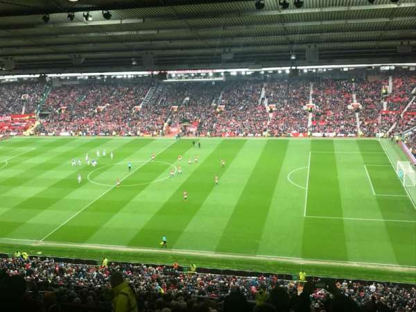 Old Trafford, section: N47, row: 29, seat: 40