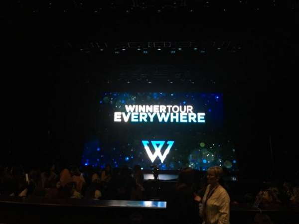 Rosemont Theatre, section: 103, row: E, seat: 5