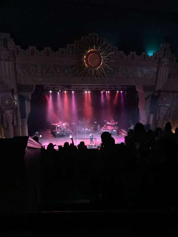 Aztec Theatre, section: Balcony, row: L, seat: 28