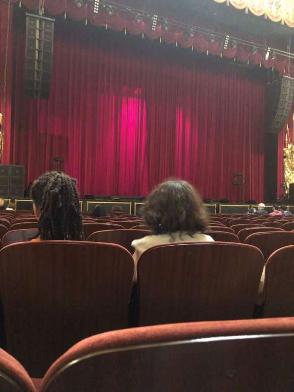 Beacon Theatre, section: Orchestra 1, row: K, seat: 13