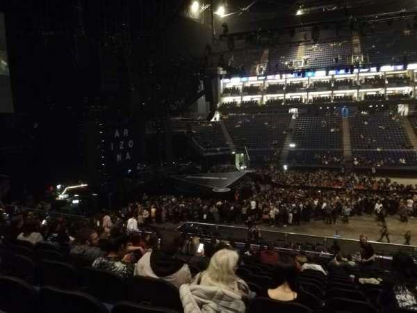 The O2 Arena, section: Amazon lounge block 101, row: B, seat: 15