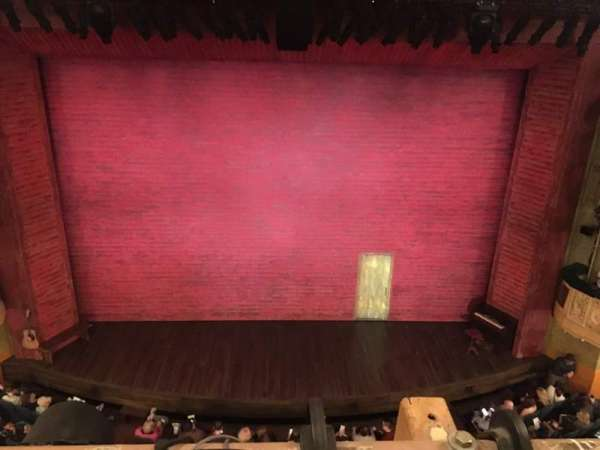 Shubert Theatre, section: balcony, row: A, seat: 108