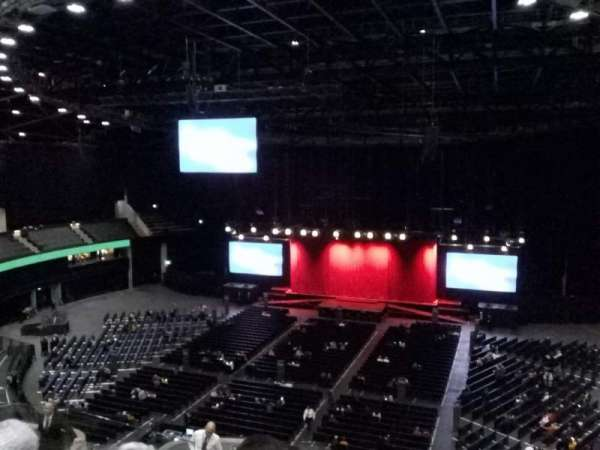 The SSE Hydro, section: 232, row: T, seat: 246