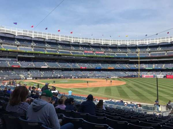 Yankee Stadium, section: 111, row: 22, seat: 2