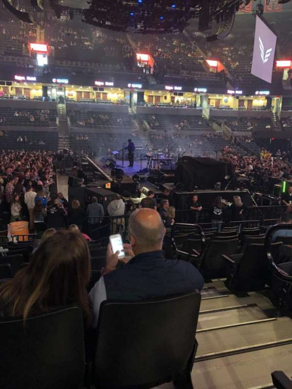 John Paul Jones Arena, section: 114, row: M, seat: 1
