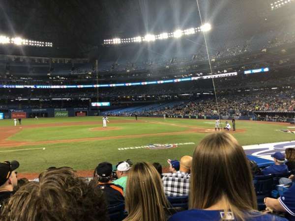 Rogers Centre, section: 126L, row: 13, seat: 105