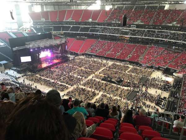 Mercedes-Benz Stadium, section: 335, row: 24, seat: 2