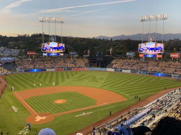 Dodger Stadium, section: 110LG, row: D, seat: 4