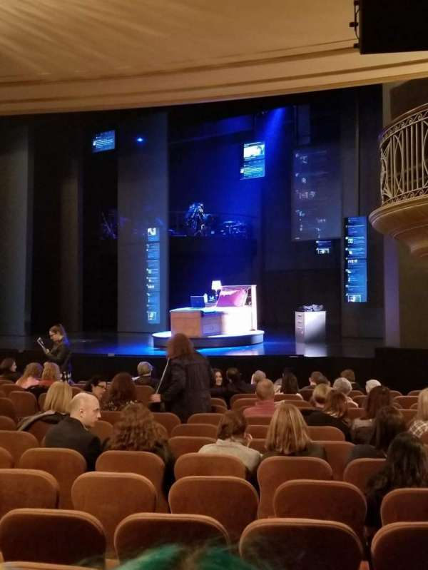 Music Box Theatre, section: Orchestra, row: P, seat: 28