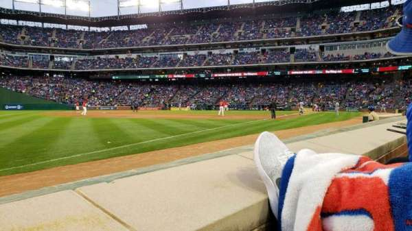 Globe Life Park in Arlington, section: 15, row: 1, seat: 8