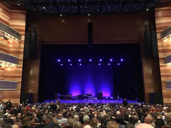 Eccles Theater, section: Orchestra C, row: T, seat: 9
