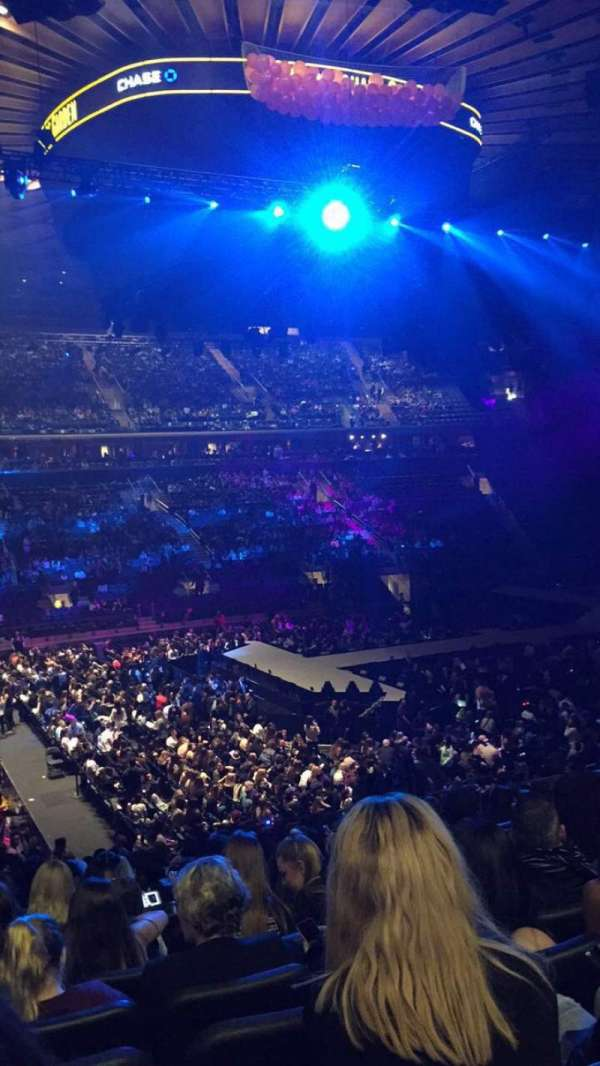 Madison Square Garden, section: 106, row: 20, seat: 5