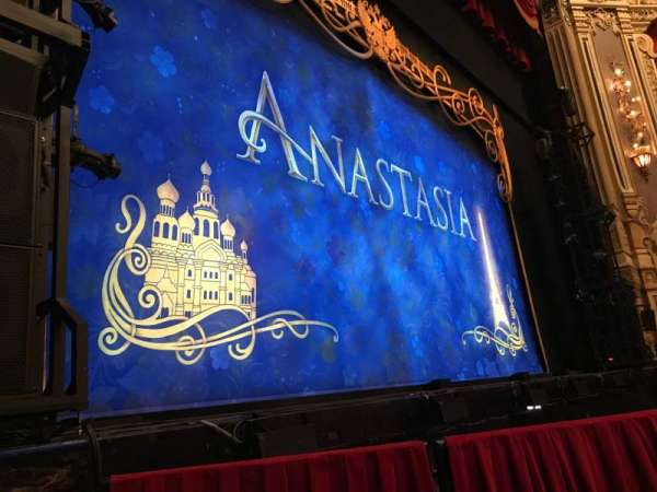 James M. Nederlander Theatre, section: Orchestra l, row: C, seat: 11