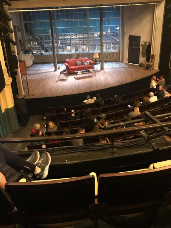 Hudson Theatre, section: Dress Circle, row: C, seat: 7
