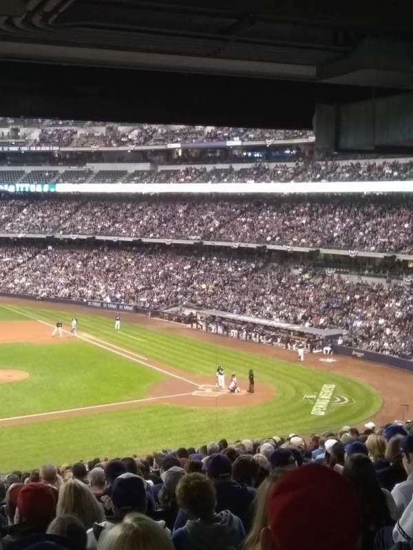 Miller Park, section: 224, row: 20, seat: 21