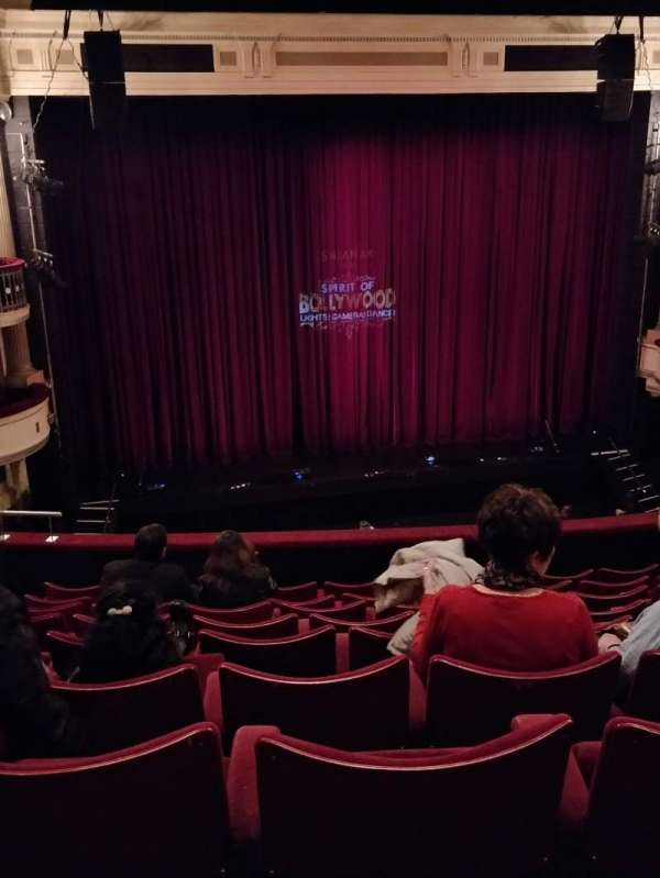 Birmingham Hippodrome, section: Middle Circle Left, row: J, seat: 36