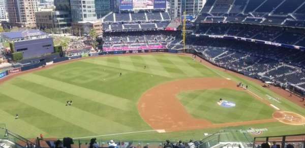 PETCO Park, section: UR316, row: 20, seat: 7
