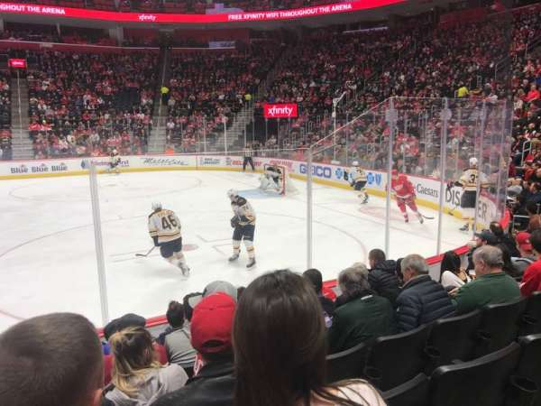 Little Caesars Arena, section: 119, row: 6, seat: 16