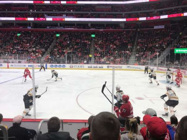 Little Caesars Arena, section: 119, row: 6, seat: 15