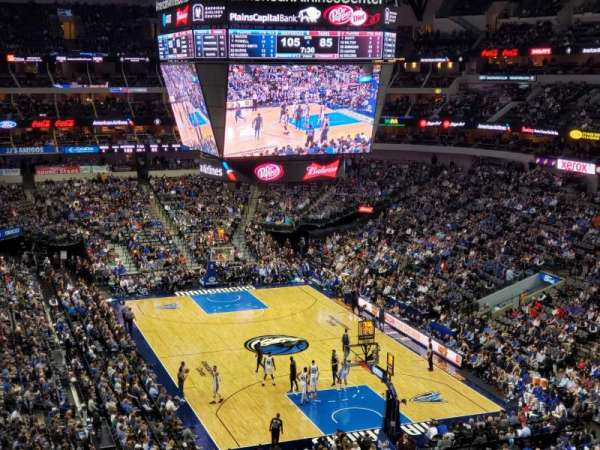 American Airlines Center, section: 303, row: AA, seat: 10