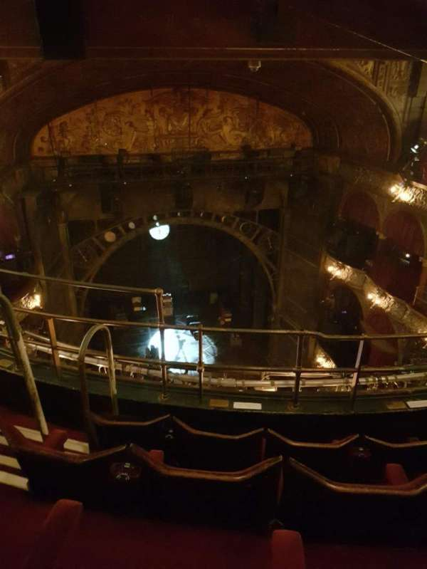 Palace Theatre (West End), section: Balcony, row: D, seat: 20
