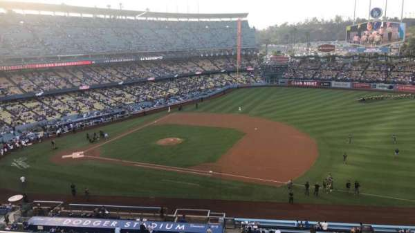 Dodger Stadium, section: 24RS, row: C