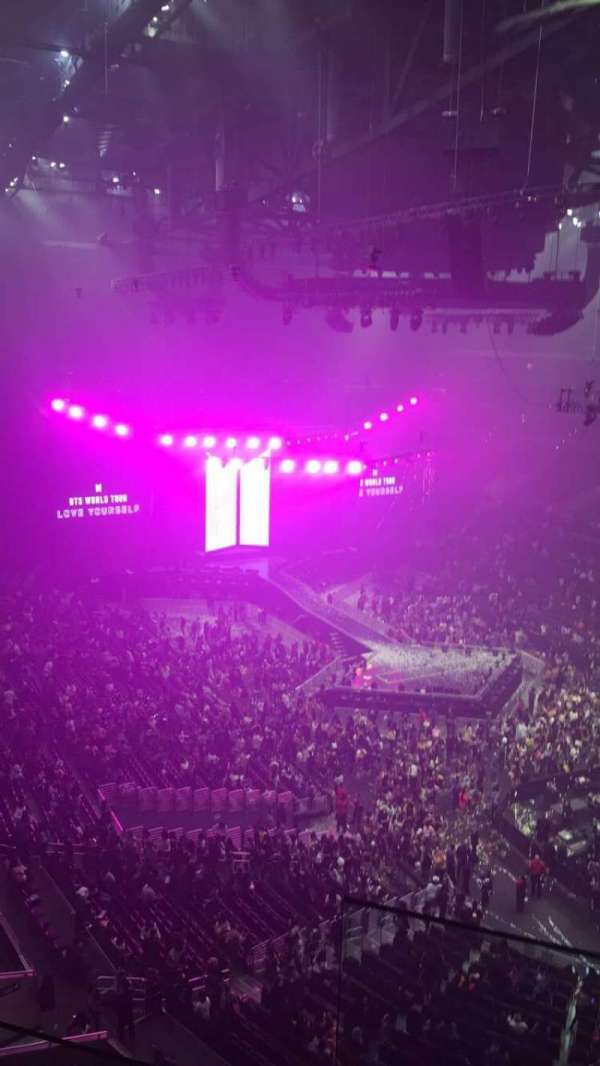 Staples Center, section: 313, row: 8, seat: 11 and 12