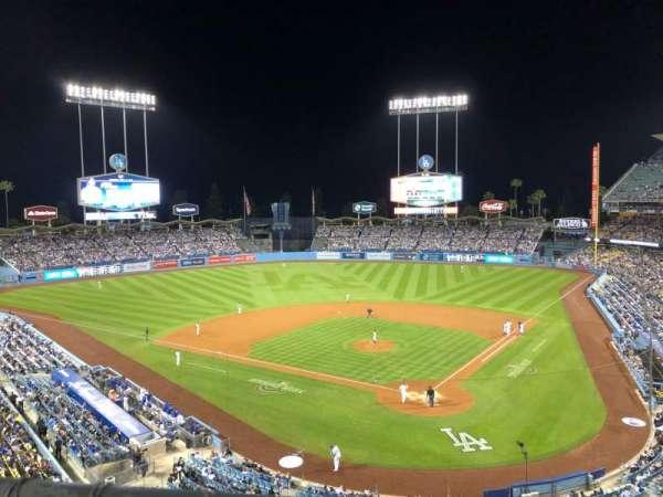 Dodger Stadium, section: RS, row: A