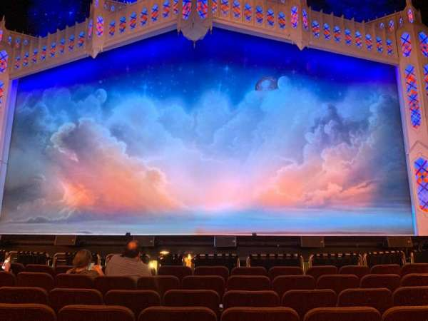 Hippodrome Theatre, section: Center Orchestra, row: G, seat: 111