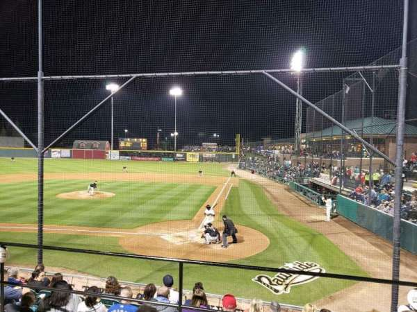 Rawhide Ballpark, section: 206, row: G, seat: 2