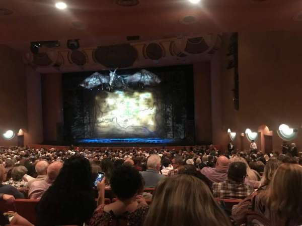 ASU Gammage, section: Orchestra, row: 24, seat: 42