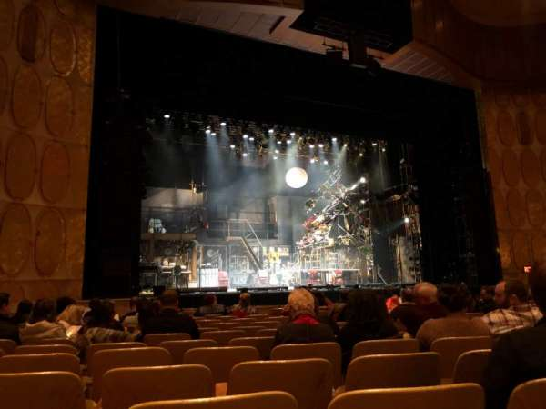 Fisher Theatre, section: MNLT, row: N, seat: 13