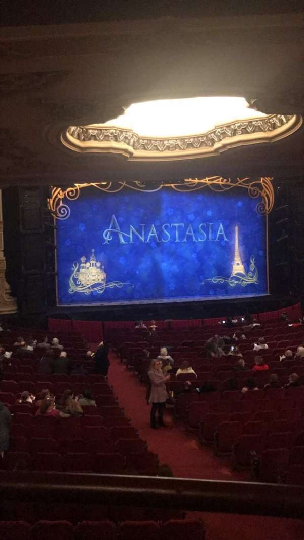Nederlander Theatre (Chicago), section: Dress Circle LC, row: A, seat: 237