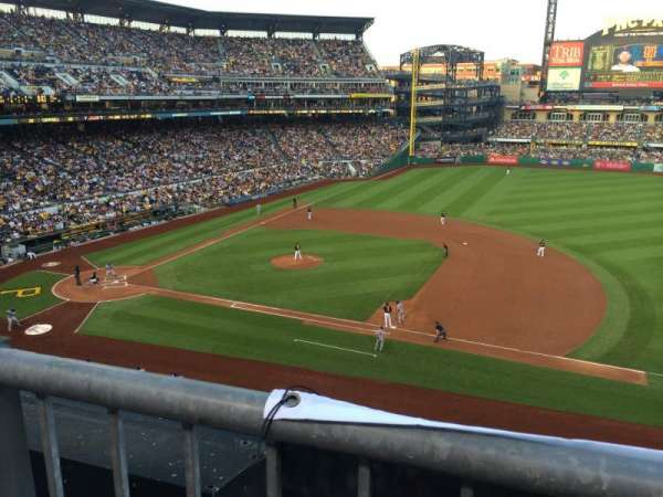 PNC Park, section: 209, row: A