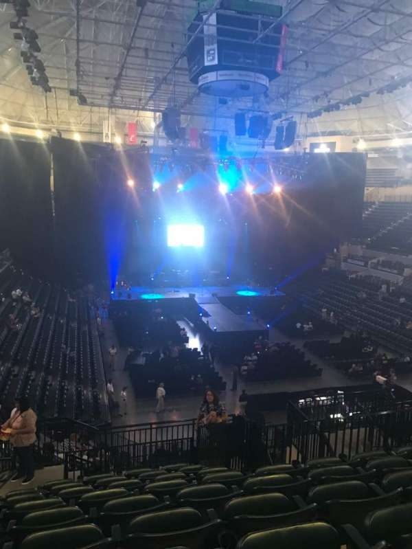 Yuengling Center, section: 220, row: W, seat: 10