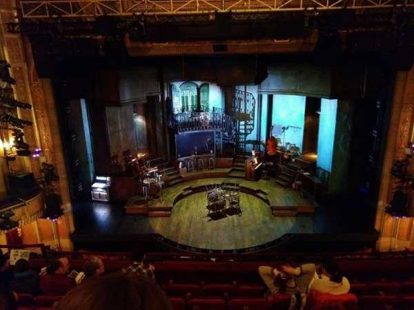 Walter Kerr Theatre, section: Mezzanine, row: G, seat: 108