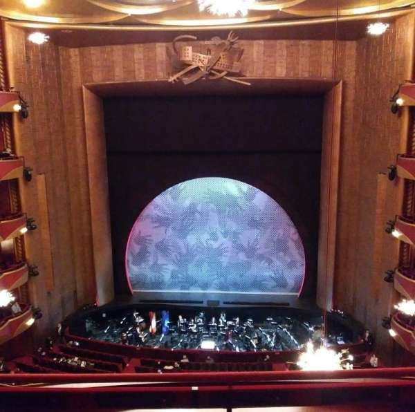 Metropolitan Opera House - Lincoln Center, section: Balcony, row: C, seat: 108